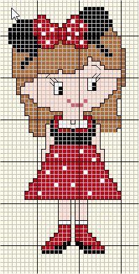 Cross Stitch For Kids, Cross Stitch Borders, Simple Cross Stitch, Cross Stitch Alphabet, Cross Stitch Charts, Cross Stitch Designs, Cross Stitching, Cross Stitch Patterns, Pixel Art