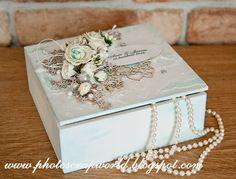 Scrap & Photo: Ślubne pudełko/Wedding box