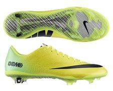 Nike Mercurial Vapor IX Soccer Cleats (Vibrant Yellow/Black/Neo Lime)