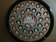 Tanjore Painting, Indian Home Decor, Paint Designs, Decorative Plates, Sketch, Paintings, Traditional, Crafts, Photography