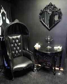 Goth Rooms a chaotic corner of my home! but i finally found a place for my