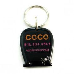Halloween pet id tag $15.00