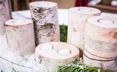 Jessie Jane's DIY Birch Wood Candles