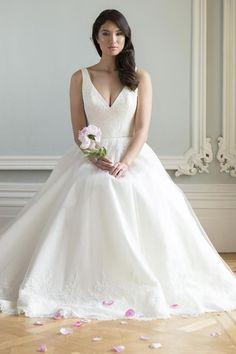 Augusta Jones: Bridal Gown: A-Line: Natural Waist | kleinfeldbridal.com