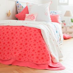 Star-print decorative quilt and cushion cover - Quilts - Bedroom | Zara Home Croatia