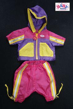 Baby Born  Zapf  Creation  Fahrrad Outfit  Puppe 43 cm  2 Teile Jacke und Hose in Spielzeug, Puppen & Zubehör, Babypuppen & Zubehör   eBay!