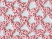"Picot Trellis stitch from ""Basic Crochet Stitches"" (Harmony Guides). Best crochet pattern book ever."