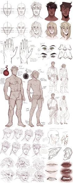 Mattheus/Kassian refs (bios update) by CanaryWitch.deviantart.com on @DeviantArt