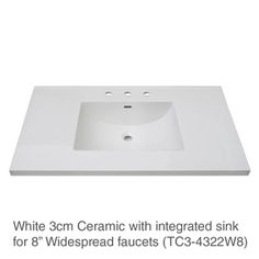 "Fairmont Designs 42"" Framingham Vanity - Polar White - Bathroom Vanities Only (HMS Stores)"