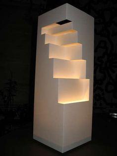 Geometric Cut Paper Table Lamp diy lantern The post Geometric Cut Paper Table Lamp appeared first on Paper Ideas.