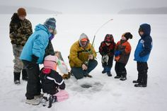 Editors' Picks: 20 of the Best Things to Do in Vermont! Try Your Hand at Ice-Fishing