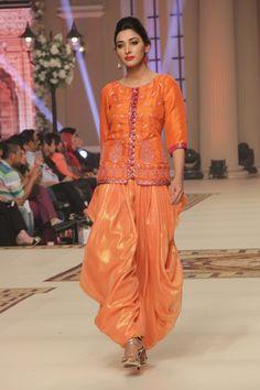 Hajra Hayat Telenor Bridal Couture Week 2014 Collection