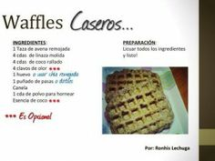 waffles caseros