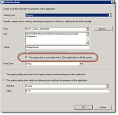 ConfigMgr 2012 and 32-bit Application Installers