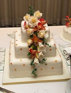 wedding cake. I wish I could make a cake every day til I made every one of these beauties.