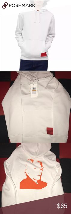 b16262e0e NWT CALVIN KLEINxANDY WAHOL HOODIE size SMALL NWT CALVIN KLEINxANDY WAHOL  HOODIE size SMALL Graphic in the BACK Calvin Klein Sweaters