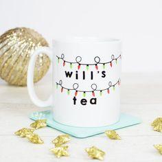 Personalised Stranger things inspired mug Personalised with name and drink (tea/coffee/hot chocolate etc). Stranger Things Gifts, Personalised Mugs, Drinking Tea, Hot Chocolate, Gift Ideas, Inspired, Coffee, Drinks, Tableware