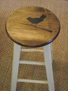 another idea for barstools using ASCP and image transfer