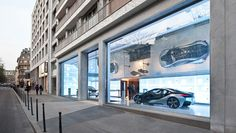 Mindseye - BMW Showroom, Avenue George V, Paris