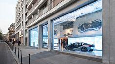 Mindseye - BMW Showroom, Avenue George V, Paris
