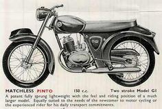 Matchless G1 Pinto Classic Motorcycle Pictures