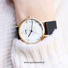 Cluse La Roche Gold CL40003 - Met een Echte marmeren wijzerplaat  Wat is jouw favoriet? #cluse #clusewatches #urk #klifweg #juwelierromkes #uhr #montre #trend #watches #2016 #cl40003