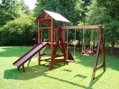 44 Ideas De Toboganes En Madera Para Niños Parques Infantiles Juegos Para Jardin Toboganes