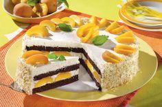 Tort cu caise Sweets Recipes, Desserts, Cheesecake, Food, Sweets, Tailgate Desserts, Deserts, Cheese Cakes, Eten