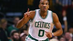 #NBA  BOSTON, MA - MARCH 09:  Avery Bradley #0 of the Boston Celtics celebrates after scoring against the Memphis Grizzlies  during the first quarter at TD Garden on March 9, 2016 in Boston, Massachusetts.NOTE TO USER: User expressly acknowledges and agrees that, by downloading and/or using this photograph, user is consenting to the terms and conditions of the Getty Images License Agreement.  (Photo by Maddie Meyer/Getty Images)