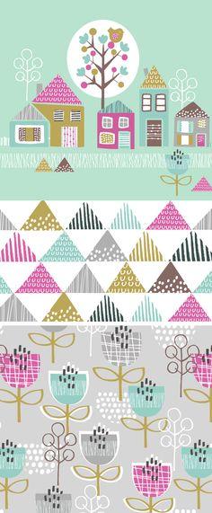 wendy kendall designs – freelance surface pattern designer » petite street