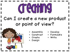 Revised Bloom's Taxonomy Posters