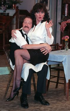 Actor Gorden Kaye, who became a household name for his role in the BBC sitcom 'Allo 'Allo!, has died at the age of He passed away in a care home this morning, the star's former agency said. Vicki Michelle, British Tv Comedies, British Comedy, Mary Tyler Moore Show, Bette Davis Eyes, Running Jokes, I Dream Of Jeannie, Carol Burnett, Comedy Tv
