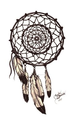 Graphite Dream Catcher I created for someone to be made into a tattoo. March 2013 = Since I published this I have had over several handfuls of people ask to tattoo this. Thank you. I have also had ...