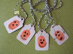 Thumbprint Pumpkins! brandithomasson