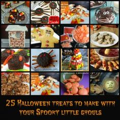 Halloween Treats to Make With Your Kids