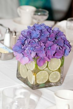 Such a cute idea for centerpieces! I love the colors! Photo by Ashley #Minnesota #weddings