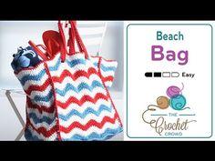 How to Crochet A Bag: Beach Bag