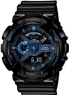 http://www.newtrendsclothing.com/category/g-shock/ Mens G-Shock Initial Blue 30th Anniversary Limited Edition