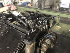 L96 GM Performance crate motor Crate Motors, Engine Swap, Crates, Monster Trucks, Engineering, Technology, Shipping Crates, Drawers, Barrel