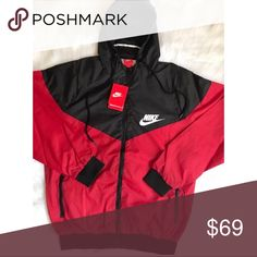 ⚡️Brand new Nike Windbreaker SLIM Full Zip⚡️ ⚡️⚡️⚡️⚡️⚡️IMPORTANT⚡️⚡️⚡️⚡️⚡️  Sizes: SLIM/RUN SMALL  MEN'S X-LARGE = XXLARGE WOMEN'S   ⚡️This jacket is brand new. Please look at all pictures closely to judge condition before buying. If you want more pictures, please let me know. Seller is not responsible for any manufacturing imperfections.   ⚡️All items I sell are 100% authentic or money back guarantee. This jacket was bought directly from a Nike retail store.  ⚡️Please Contact Me if You Have…