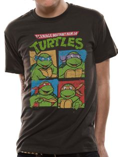 Teenage Mutant, Mutant Ninja, Unisex, Ninja Turtles, Pop Art, Mens Tops, T Shirt, Comic, Self