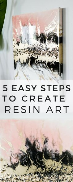 What you need to know before resin pouring! DIY resin art with gold and crystals - - Find all your answers in one tutorial. Best resin choice for your resin art pour. Adding metallic golds in resin art. Making & adding crystals in resin art. Diy Resin Art, Epoxy Resin Art, Diy Resin Crafts, Art Diy, Acrylic Resin, Diy Wall Art, Diy Canvas Art, Acrylic Art, Resin Artwork