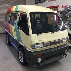 Camper Van Life, Car Camper, Mini Camper, Custom Van Interior, Truck Accesories, Minivan Camper Conversion, Toyota Van, Suzuki Carry, Kei Car