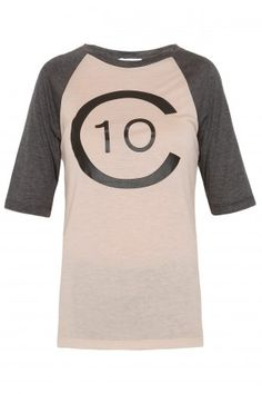 This has my name all over it.  (Logo Baseball T-Shirt by 10 CROSBY DEREK LAM)