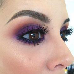 Purple smokey eye  @frenchtouchofmakeup