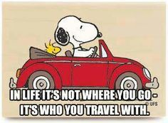 ... who you travel with ♡
