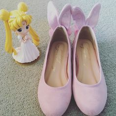Kawaii bunny shoes (honey salon Japan) perfect for days u wanna be cute and add a little sailor moon feeling to your outfit @yoybuy