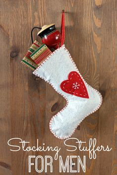 Stocking Stuffers for Men - great gift ideas for Christmas!