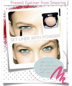 How to Prevent your Eyeliner from Running | Beauty and MakeUp Tips
