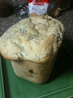 Pão de Azeitonas   Receitas para máquina de fazer pão (MFP)